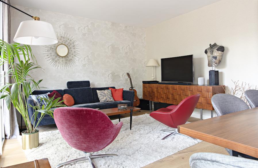 décoration d'un grand appartement à Nantes